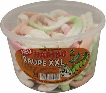 BUNDLE 03 - Haribo Raupe XXL 30 Stück 960g