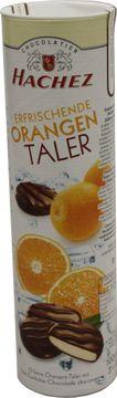 Hachez Orangen Taler 100g