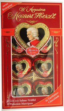 Reber Mozart Herzl 80g – Bild 1