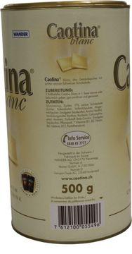 Caotina Blanc 500g – Bild 3