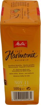 Melitta Cafe Harmonie 500g – Bild 2