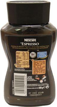 Nestle Espresso 100g – Bild 2