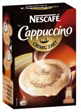 Nestle Cappuccino cremig 10er Pack