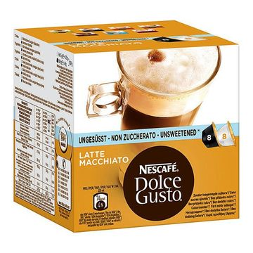 Nescafe Dolce Gusto Latte Macchiato ungesüßt 168g – Bild 1