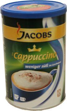 Jacobs Cappuccino ungesüßt Dose 220g – Bild 1