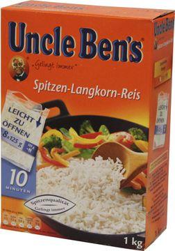 Uncle Bens 10 Minuten Reis Kochbeutel 1kg – Bild 2
