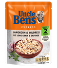Uncle Bens Express Reis Langkorn + Wildreis 250g 001