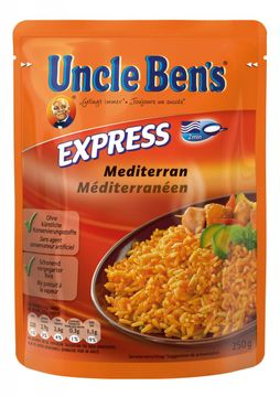 Uncle Bens Express Reis Mediteraner Art 250g