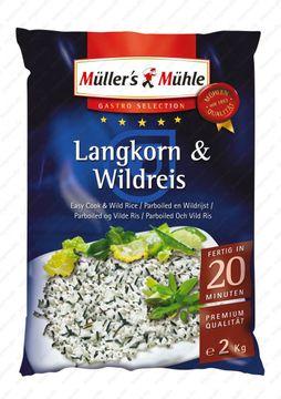 Müllers Mühle Langkorn + Wildreis 2kg