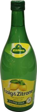 Kühne Essig + Zitrone 5% 0,75L – Bild 1