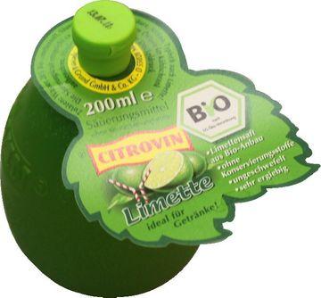 Citrovin Limette Bio 200ml – Bild 1
