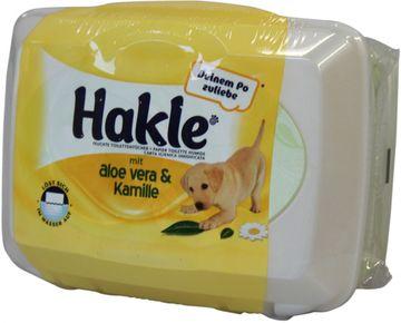 Hakle Feucht Aloe Vera & Kamille Box 42 Blatt – Bild 1