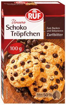 RUF Schokoladen Tropfen 100g