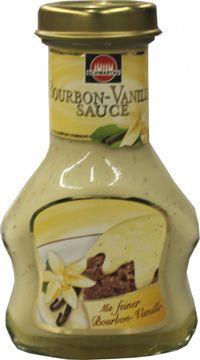 Schwartau Dessert Sauce Bourbon Vanille 125ml – Bild 1
