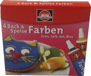 Schwartau Back und Speise Farben 40g
