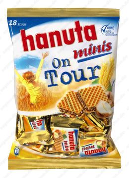 Ferrero Hanuta Minis on Tour 200g