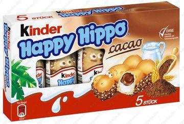 Ferrero Happy Hippo Cacao 5 Riegel x 20,7g – Bild 1