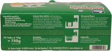 Dr. Becher Becharein Gläser-Spültabs 75 Stück – Bild 4