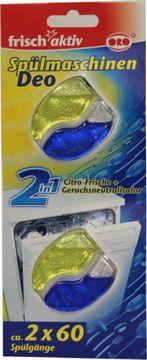ORO Frisch Aktiv Spülmaschinen Deo Zitrone 2er Pack