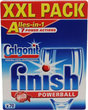 Calgonit Finish Powerball Tabs Alles-in-1 70 Tabs – Bild 1