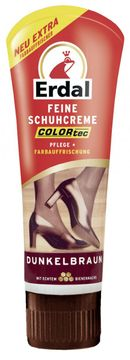 Erdal Schuh-Creme Tube Dunkel-Braun 75ml – Bild 1