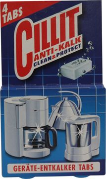 CILLIT Geräte-Entkalker Tabs 4 Stück – Bild 1