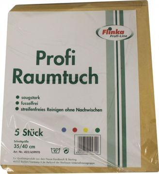 Flinka Profi Raumtuch gelb 5er Pack