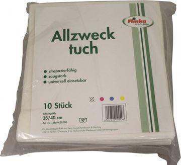Flinka Allzwecktuch Weiß 38 x 40cm 10er Pack