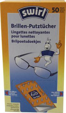 Swirl Brillen-Putztücher Spender 50er