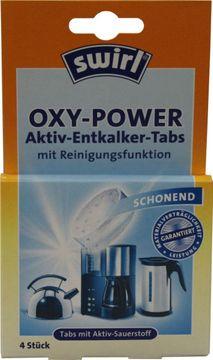 Swirl Oxy-Power Aktiv-Entkalker-Tabs 4 Stück – Bild 1