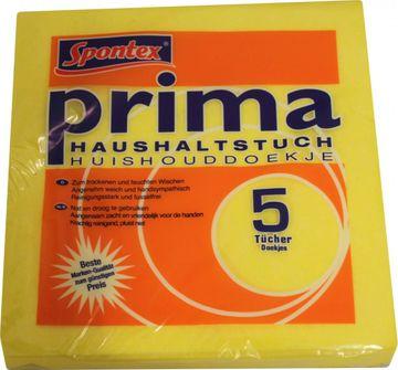 Spontex Prima Haushaltstuch 38 x 38cm 5er Pack
