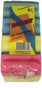 Bobby Topfreiniger bunt mit Griffleiste 8er Pack – Bild 1