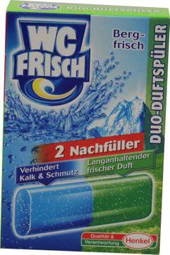 WC-Frisch Duo-Duftspüler Bergfrische Nachfüllpack 2er Pack – Bild 1
