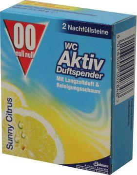 WC 00 Aktiv Duftspender Sunny Citrus Nachfüllpack 2 x 50g