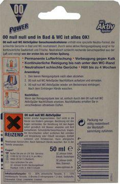 00 WC Aktiv Spüler Orange Nachfüllpack 50ml – Bild 2