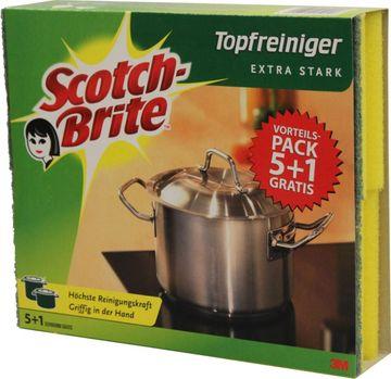 Scotch Brite Topfreiniger Extra Stark 6 Stück – Bild 2