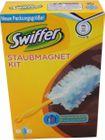 Swiffer Staubmagnet Starter Set Griff + 4 Tücher