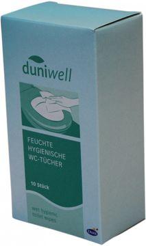 Duniwell Feuchte Hygiene WC-Tücher 10 Stück