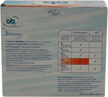 O.B. Tampons Pro Comfort Super 48 Stück – Bild 4