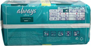 ALWAYS Jumbopack Ultra Normal Plus 24er Pack – Bild 2