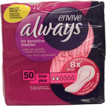 ALWAYS Envive Liner Plus Vorteilspack 50er Pack
