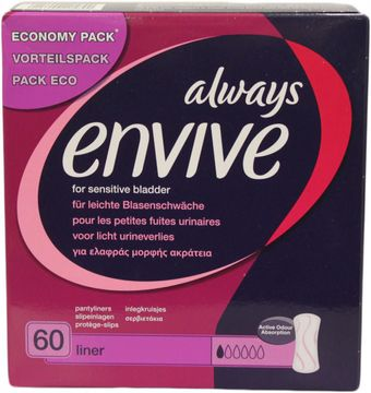 ALWAYS Envive Liner Vorteilspack 60er Pack
