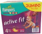 Pampers Active Fit Maxi 7-18kg Größe 4 68er Pack