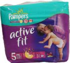 Pampers Active Fit Junior 11-25kg 31er Pack