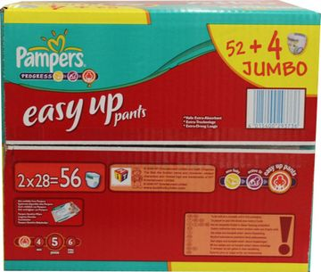 Pampers Easy Up Junior 12-18kg Größe 5 52er Pack – Bild 3