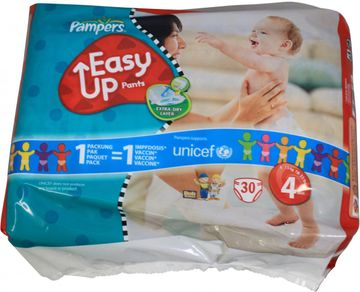 Pampers Easy Up Maxi 8-15kg Größe 4 28er Pack – Bild 4