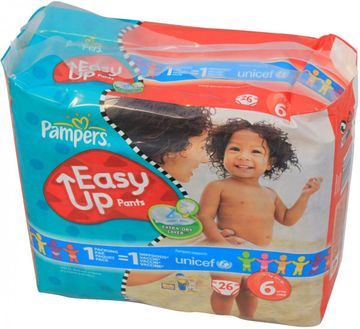 Pampers Easy Up XL 16+ kg Größe 6 24er Pack – Bild 1