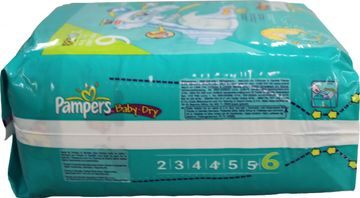 Pampers Baby Dry Extra Large 16-30kg 26er Pack – Bild 4