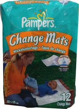 Pampers Chance Mats 60 x 60cm 12er Pack – Bild 1