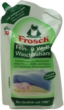 Frosch Fein- & Woll-Waschbalsam 2L – Bild 1